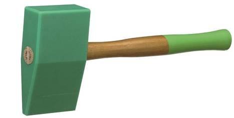 PVC ķīļveida āmurs ar hikorija kātu