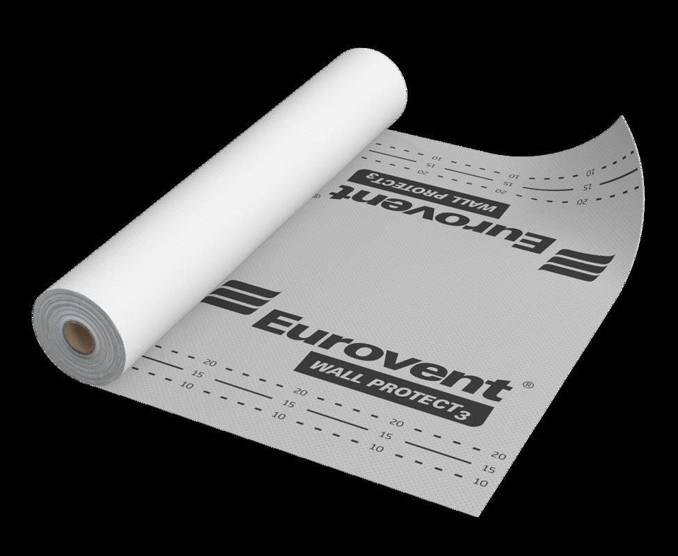Eurovent WALL PROTECT 3 vēja barjera fasādēm